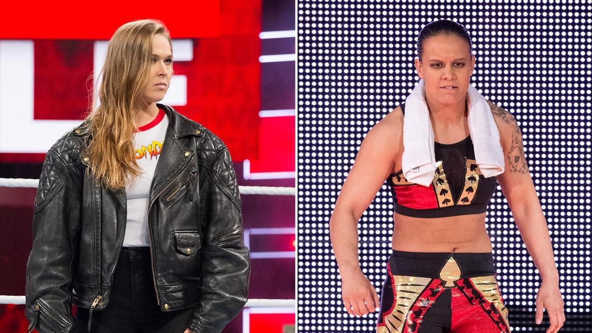 Ronda Rousey VS Shayna Baszler