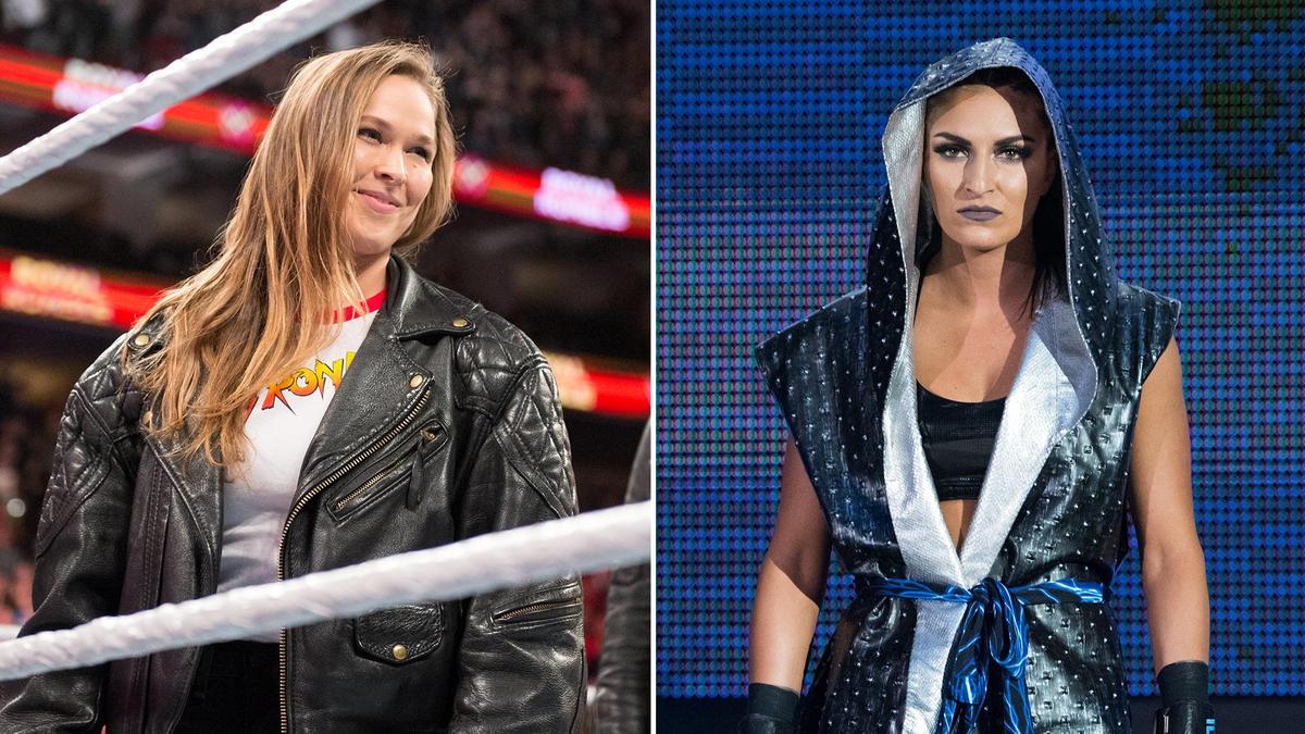 Ronda Rousey VS Sonya Deville