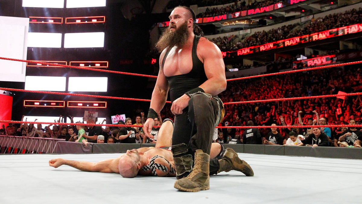 Wwe Rumors Braun Strowman S Mystery Wrestlemania Tag Partner Possibly Revealed Via Cageside Seats