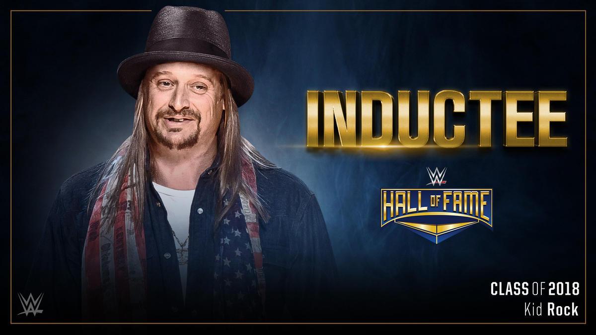 Кид Рок будет введён в Зал Славы WWE 2018