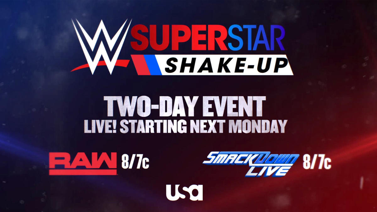 Superstar Shake-up announced for next week's Raw and SmackDown LIVE