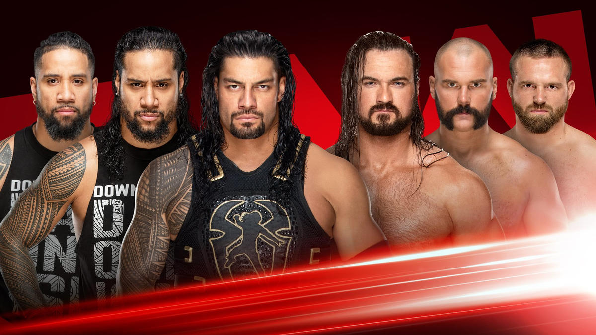 Preview: Roman Reigns & The Usos vs. Drew McIntyre & The Revival This Monday on Raw