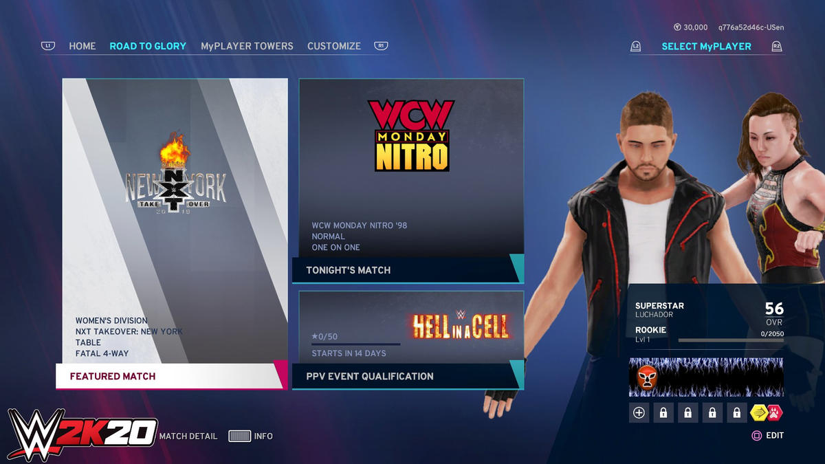 WWE Unveils Online Features For WWE 2K20