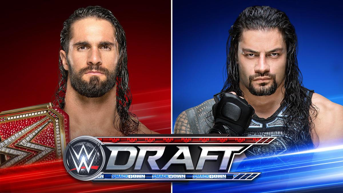 Правила драфта WWE, а также матч назначен на шоу