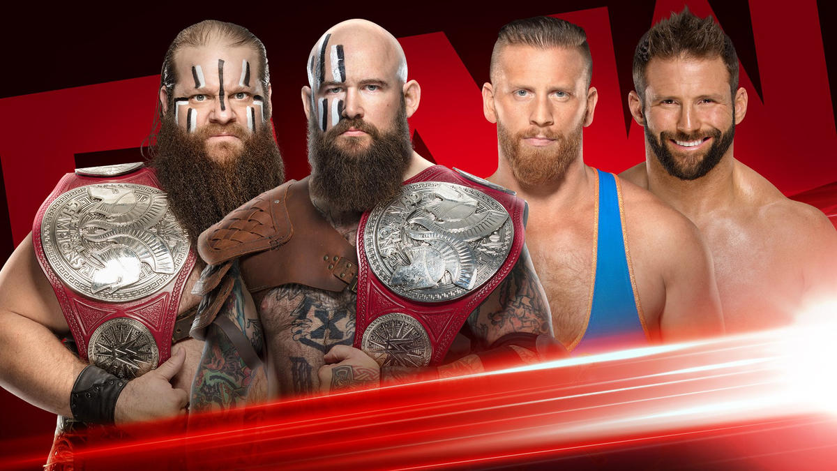 WWE Raw preview (18/11/19)-Andrade-Seth Rollins, Title Match, Rey Mysterio 2