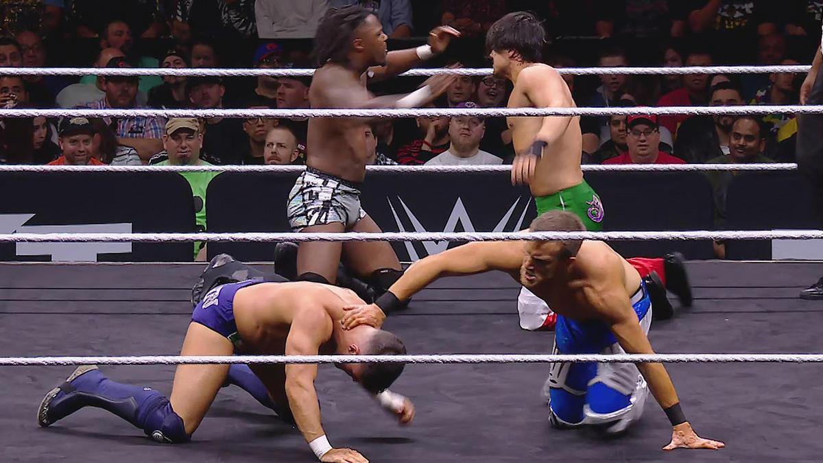 NXT Cruiserweight Championship muda de mãos no Worlds Collide