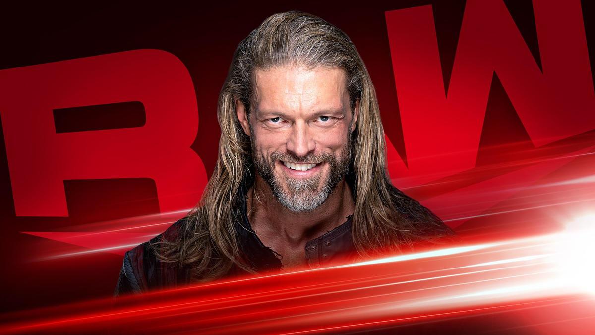Edge é anunciado para o próximo RAW