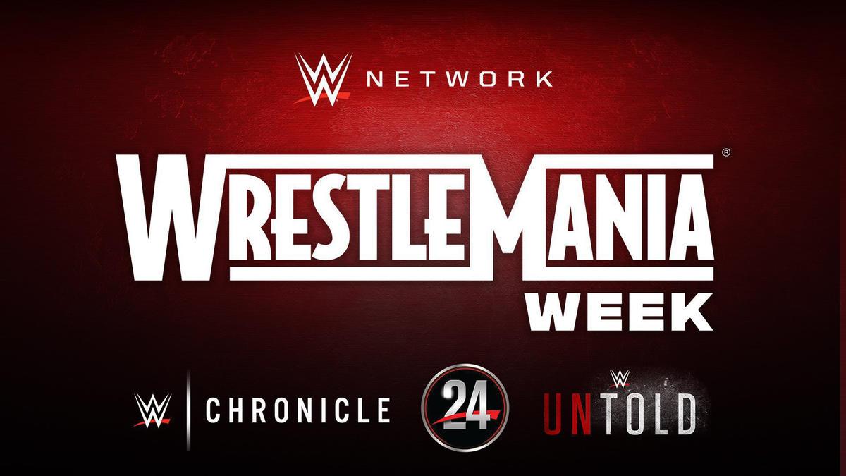 Wrestlemania Week Announced On WWE Network; List Of Programs Revealed 1