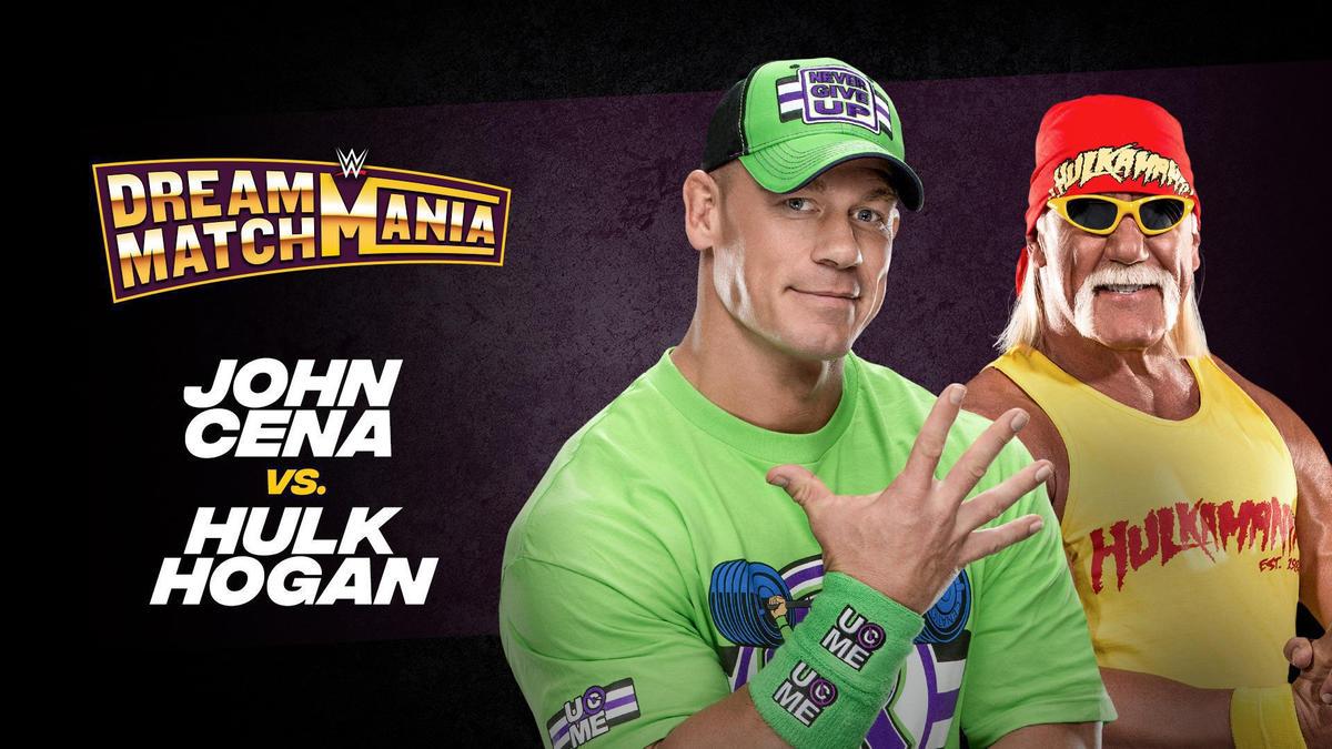 John Cena vs. Hulk Hogan