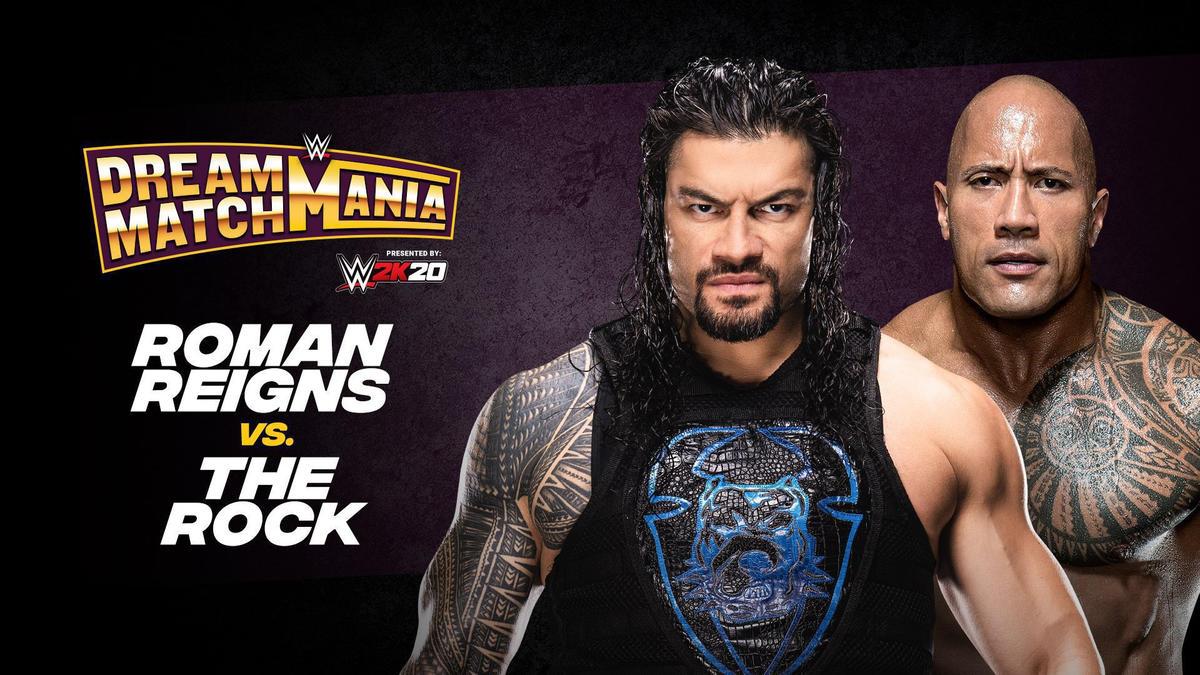 Roman Reigns vs. The Rock
