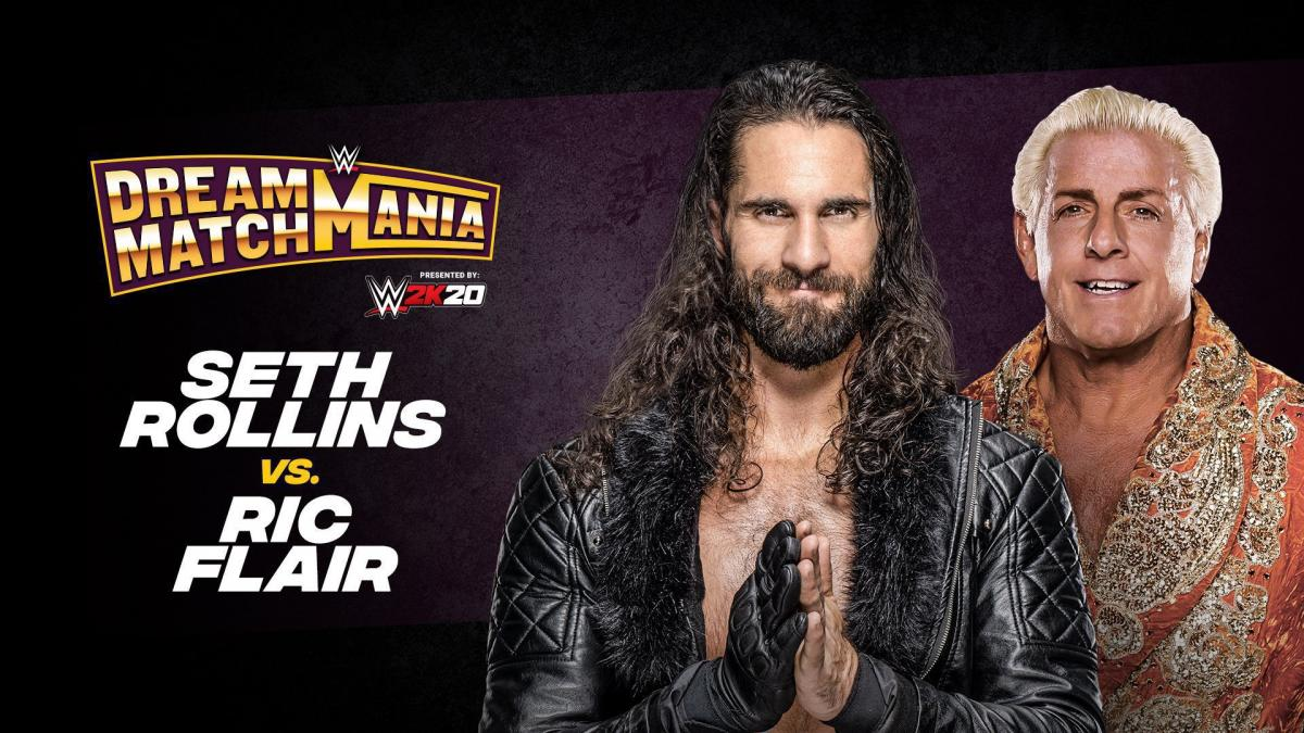 Seth Rollins vs. Ric Flair