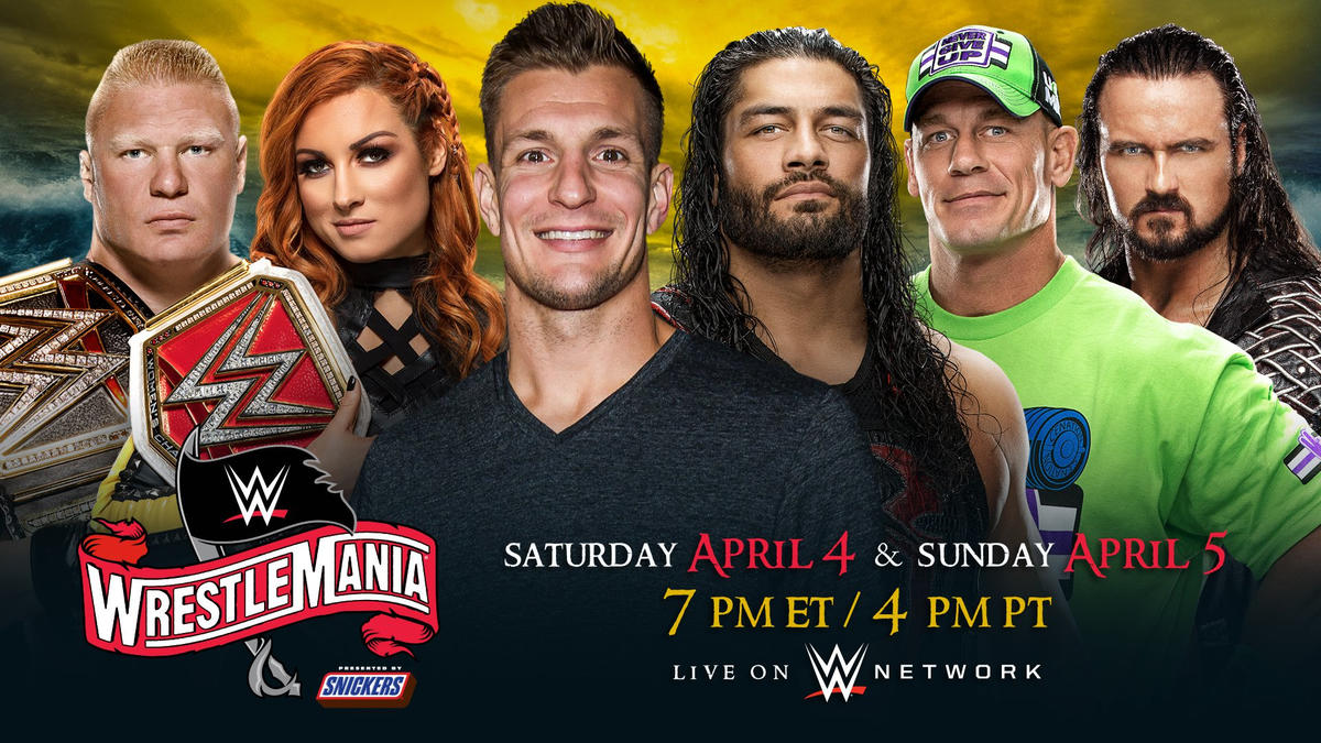 WWE News: NFL Star Rob Gronkowski To Host Two-Day Wrestlemania 36 Event 1