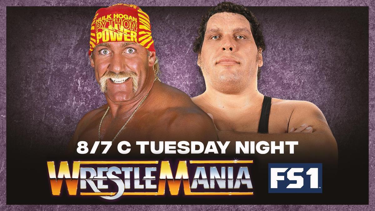 WrestleMania III será transmitida na FOX Sports norte-americana