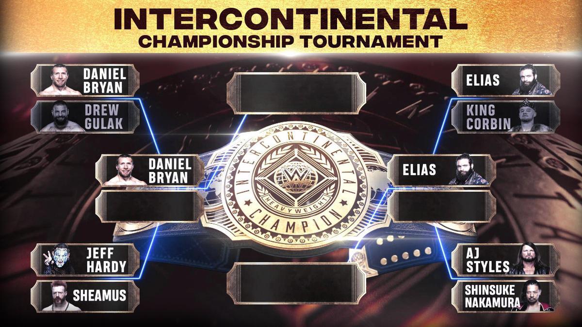 Daniel Bryan e Elias avançam no torneio do WWE Intercontinental Championship