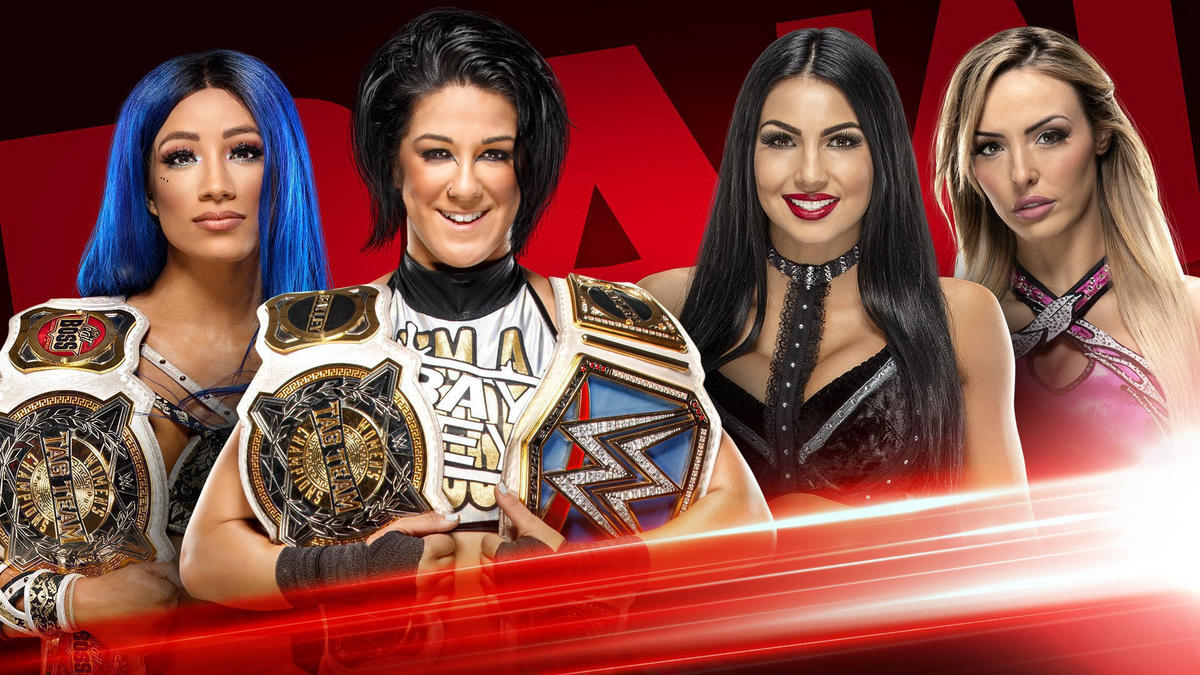 Novos combates por títulos são anunciados para o RAW