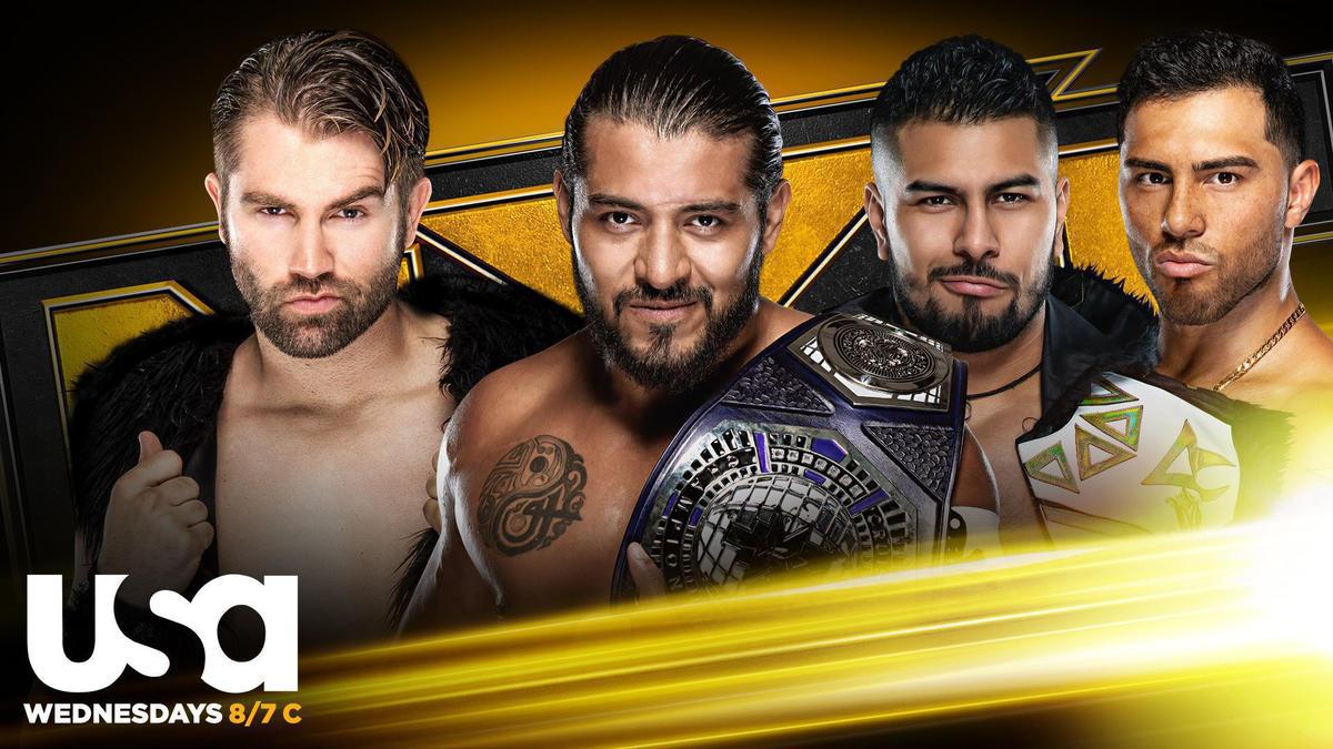 WWE anuncia novo combate para o próximo NXT