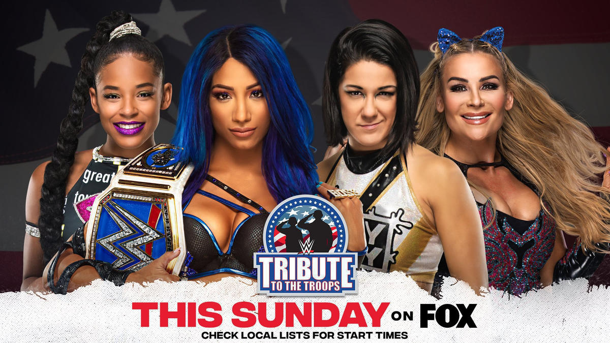 Tribute To The Troops 2020: WWE Announces Huge Matchups 2