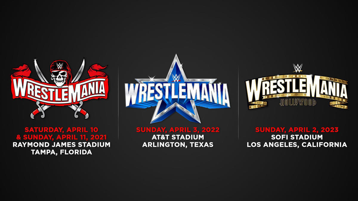 Wwe Calendar 2022.Roman Reigns Daily Online Wrestlemania Set For Tampa Bay In 2021 Dallas In 2022 Los Angeles In 2023 Businesswire