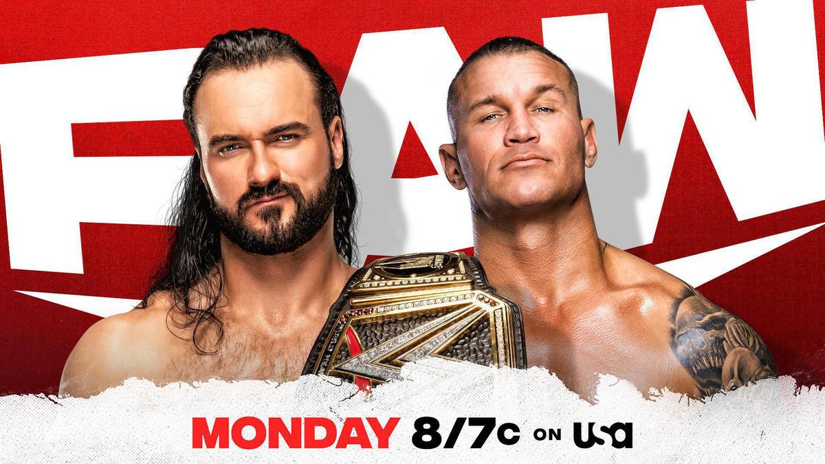 Drew McIntyre vs Randy Orton Announced For RAW