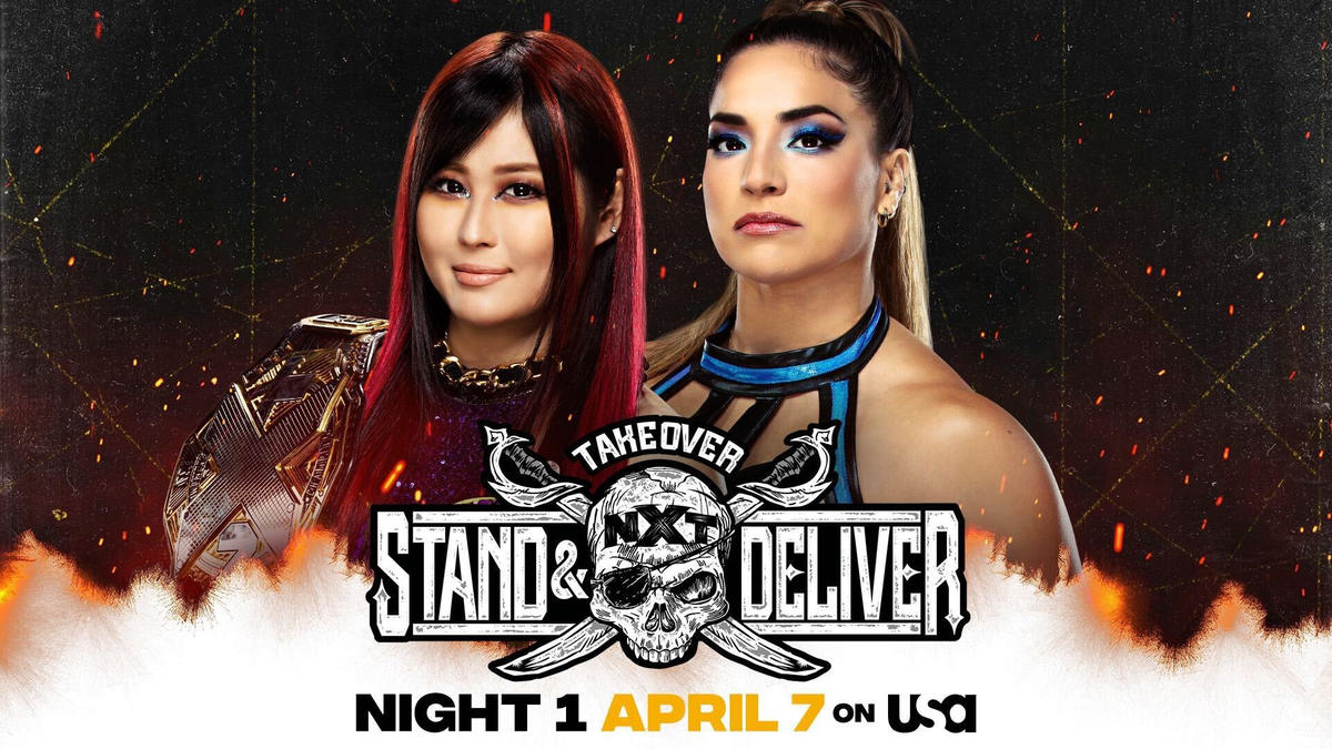 Io Shirai vs. Raquel Gonzalez Headlines NXT TakeOver: Stand & Deliver Night 1