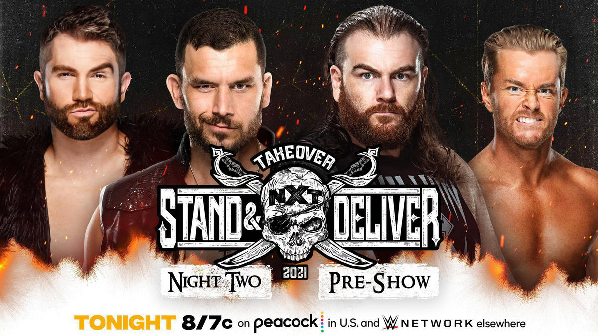 New Match Announced For Takeover: Stand & Deliver Kickoff