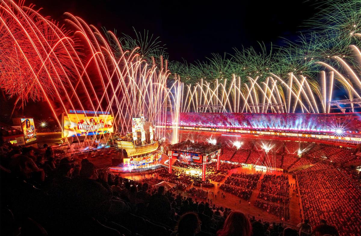 WWE WrestleMania 37 Night 2 Attendance