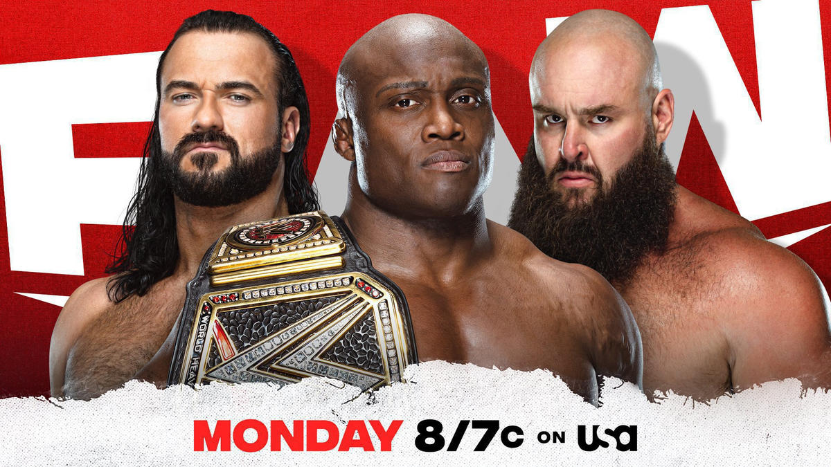 Two Title Matches Announced For Tomorrow's WWE RAW
