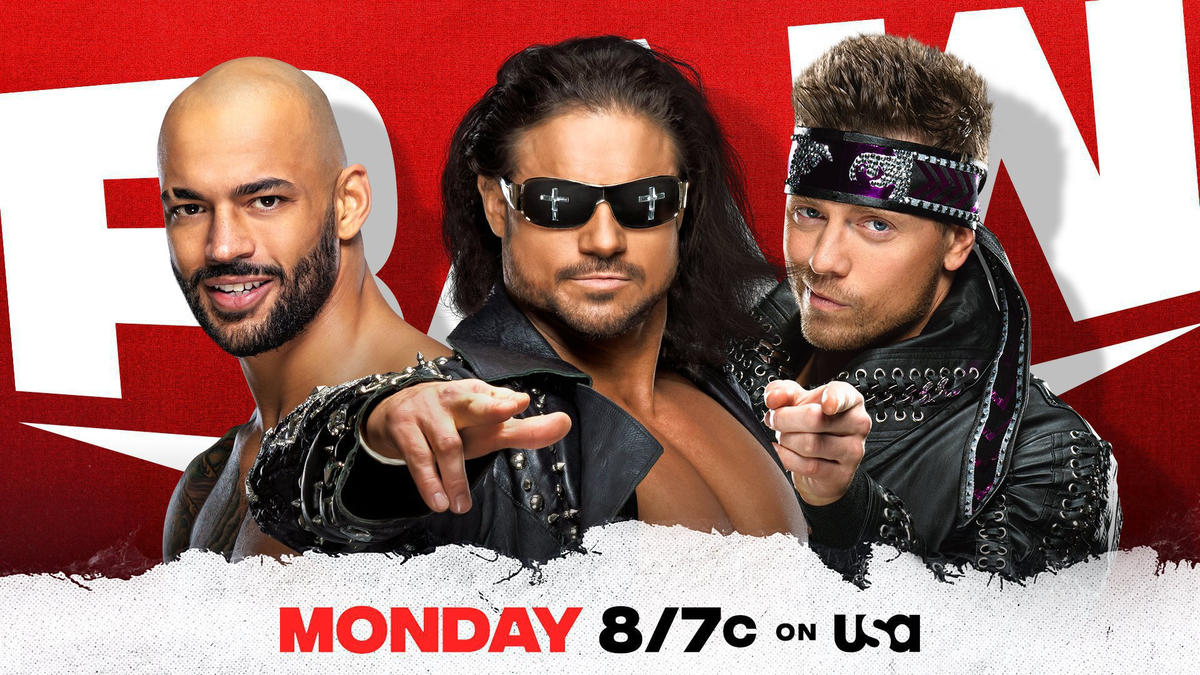 WWE Raw: Huge Tag Team Match, Miz TV And More Announced 78