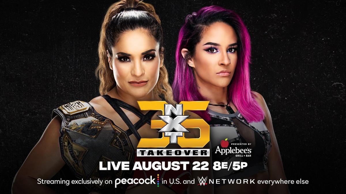 Raquel Gonzalez Vs Dakota Kai Announced For NXT TakeOver 36