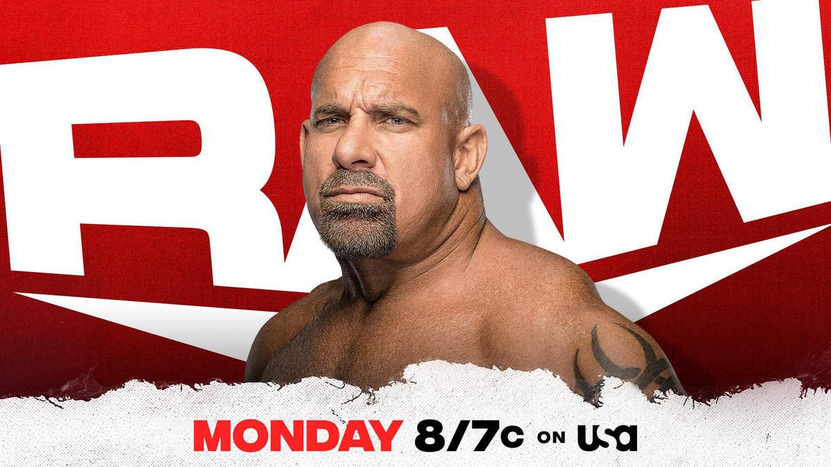 Goldberg Confirmed For Raw Return On WWE Draft 2021 Night Two 19
