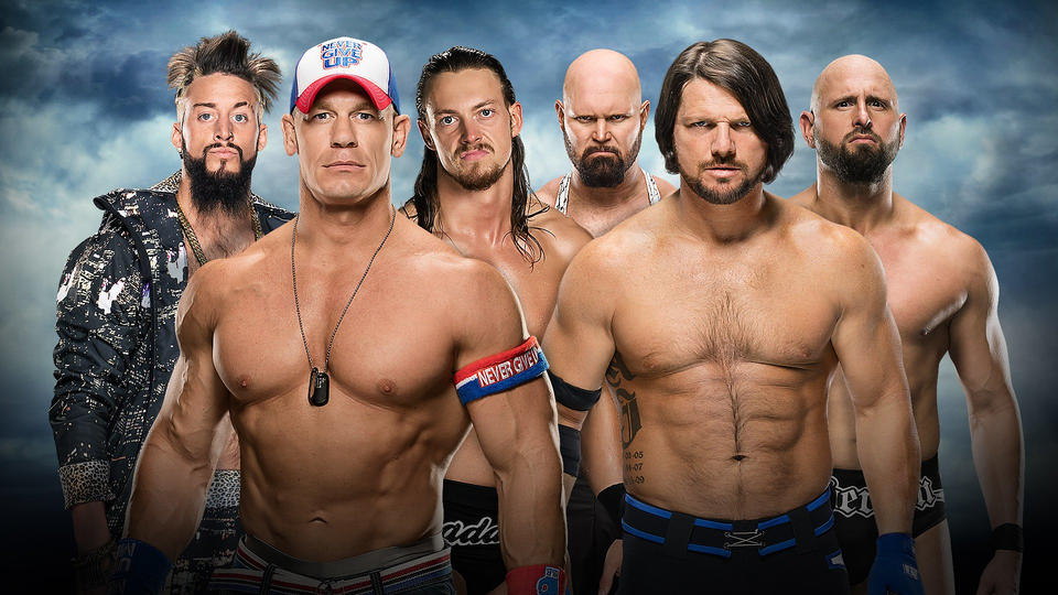 Confirmed and Potential Matches for WWE Battleground 2016 20160627_Battleground_CenaAmoreCassAJGallows--cc51195da647af4ee7c80d57364c7eed