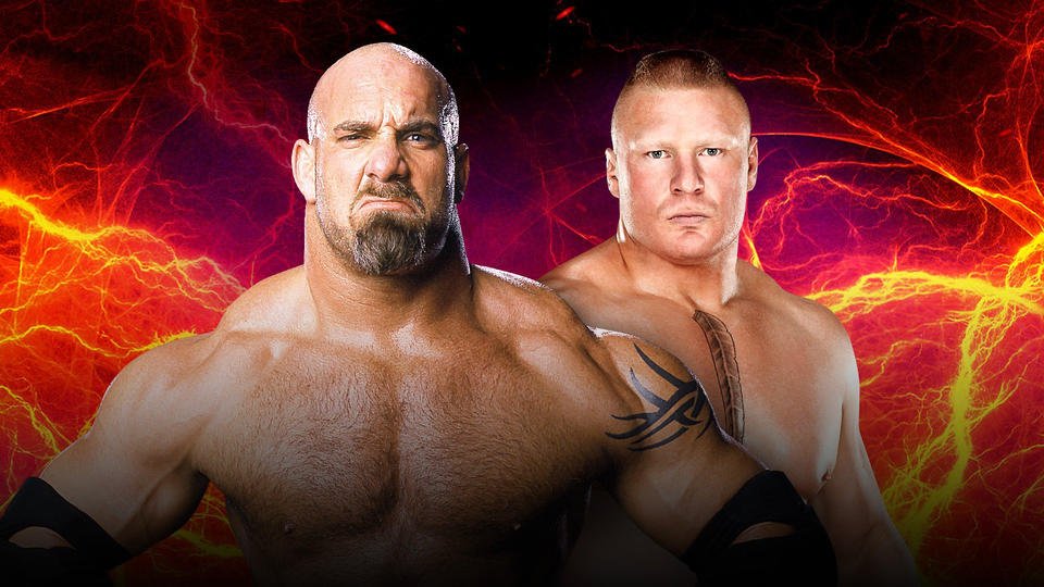 Confirmed and Potential Matches for WWE Survivor Series 2016 20161026_Match_SurvivorSeries_GoldBergBrock--e7373175efca5e477e8b251b8890b9da