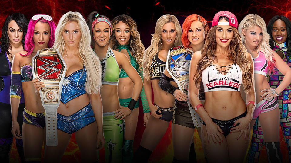 Confirmed and Potential Matches for WWE Survivor Series 2016 20161101_Match_SurvivorSeries_SD_Women_3--75e0b2a2a0f8674d604deeb8c11dab95