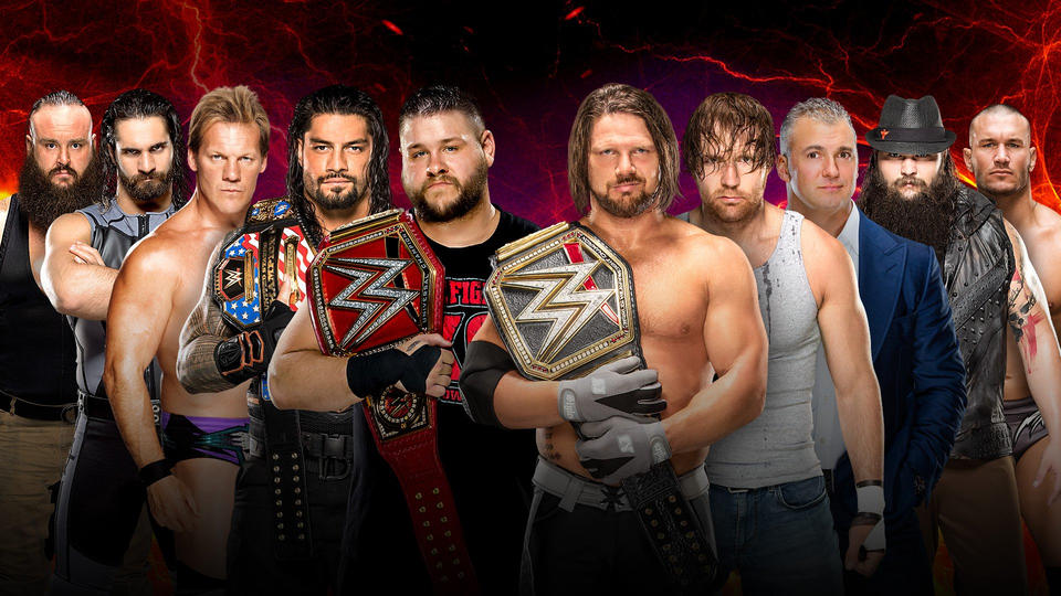 Confirmed and Potential Matches for WWE Survivor Series 2016 20161108_Match_SurvivorSeries_SD_5on5_2--9194a13e3adc92545a11e17f83797aca