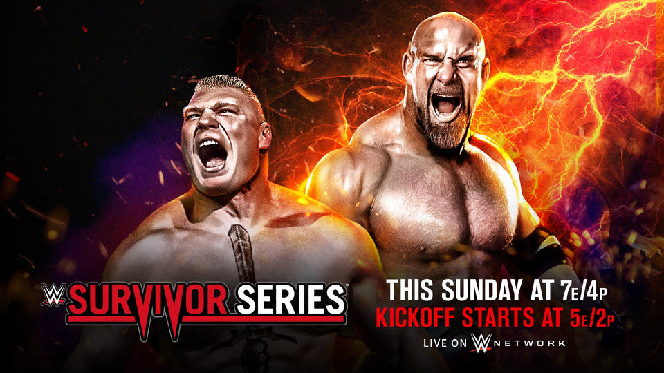 [Pronos] Survivor Series 2016  20161115_SurvivorSeries_TuneIn_thissunday--efe19c64318e43799155e0ccde294586
