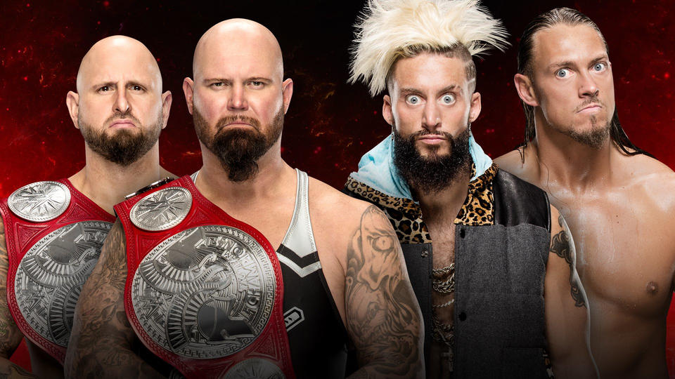 Raw Tag Team Champion Luke Gallows & Karl Anderson vs Enzo Amore & Big Cass Fastlane 2017