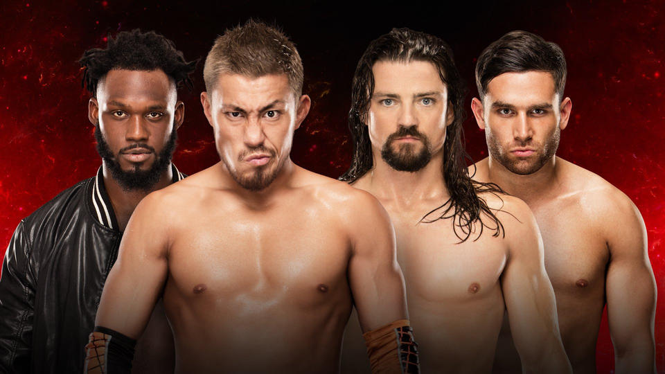 Image result for Rich Swann and Akira Tozawa vs. The Brian Kendrick and Noam Dar