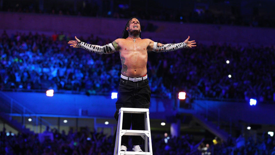 Jeff Hardy picked up his first ever WrestleMania win in ...