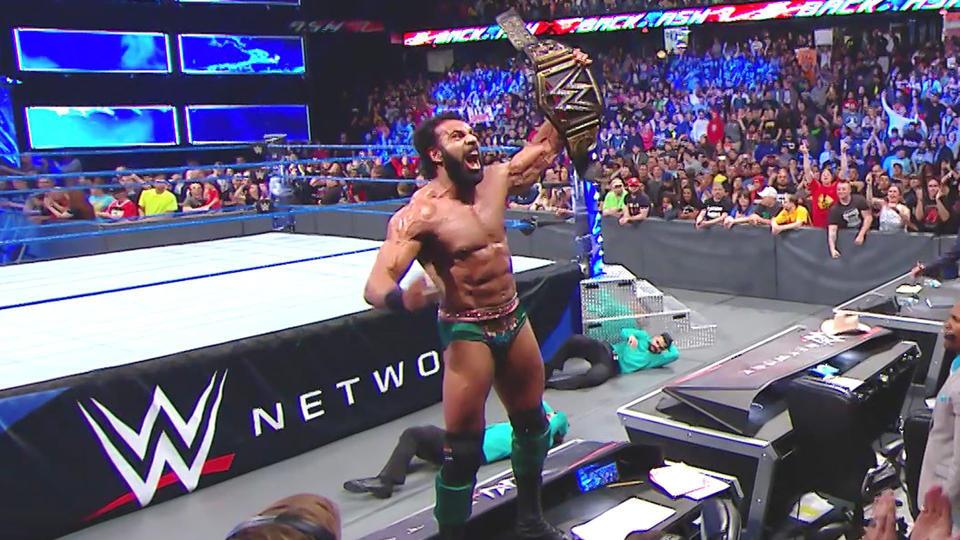 Jinder Mahal es el nuevo campeón de WWE
