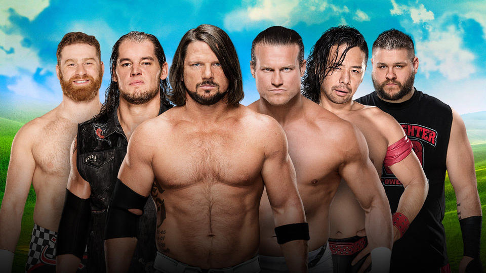 Confirmed and Potential Matches for WWE Money in the Bank 2017 20170602_MITB_Ladder--55338216db8d1f39fdca23c958a491d5