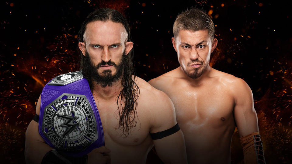 Image result for neville vs akira tozawa great balls of fire