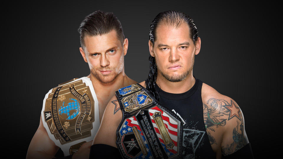 Image result for The Miz vs Baron Corbin