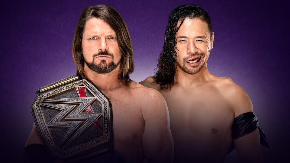 wrestlemania 34 match card_AJ Styles vs Shinsuke Nakamura