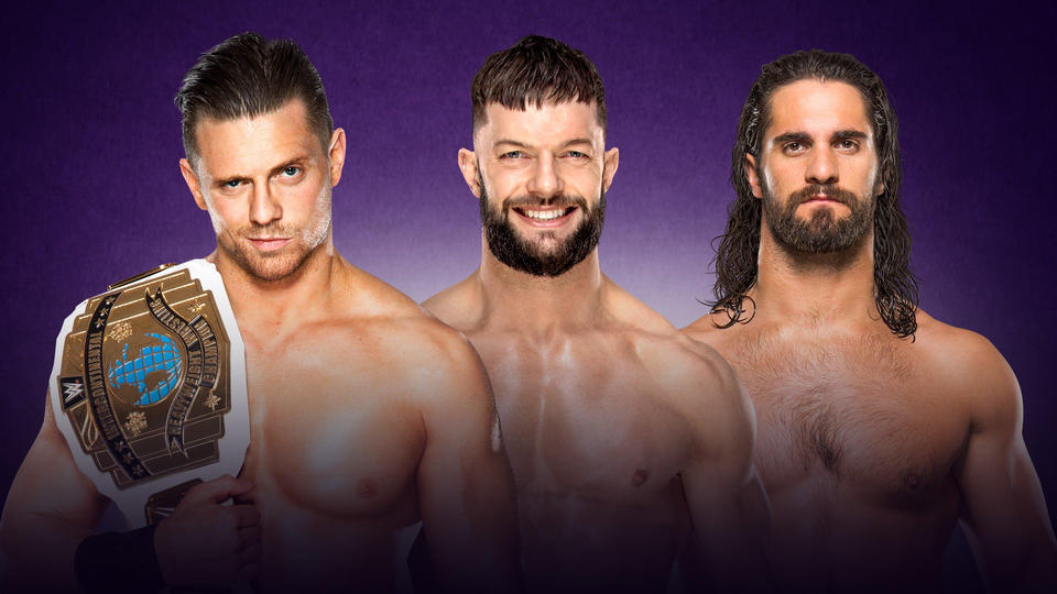 wrestlemania 34 match card_The Miz vs. Finn Balor vs. Seth Rollins