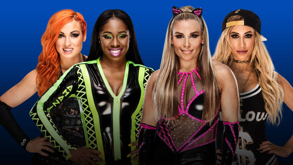 Confirmed and Potential Matches for WWE Fastlane 2018 20180306_Becky_Naomi_Natalya_Carmella_nologo--48e1227f44b0aa5f78b51865da5a78cb