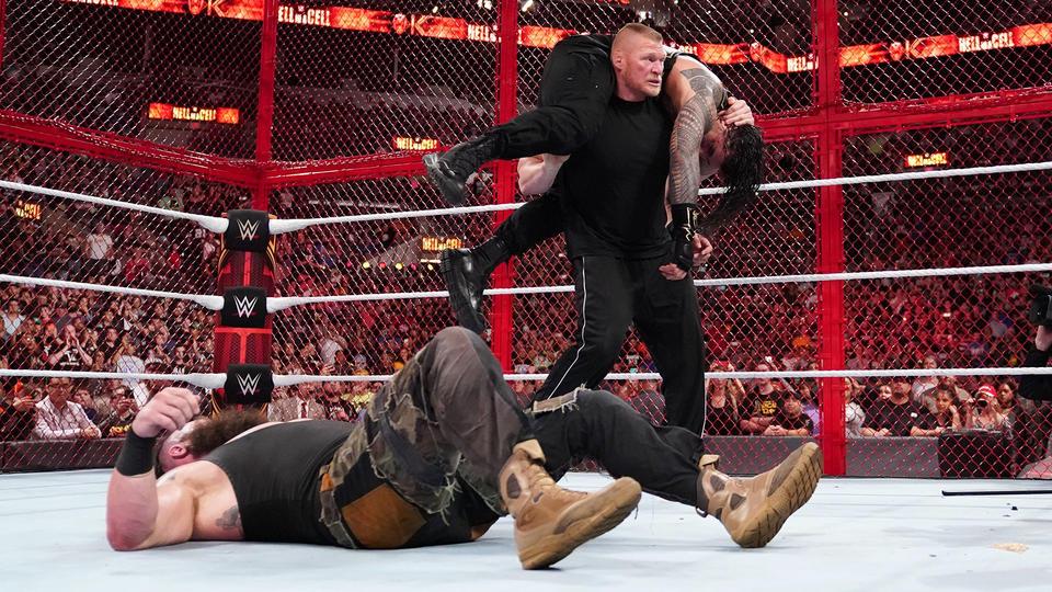 Brock Lesnar visszatért