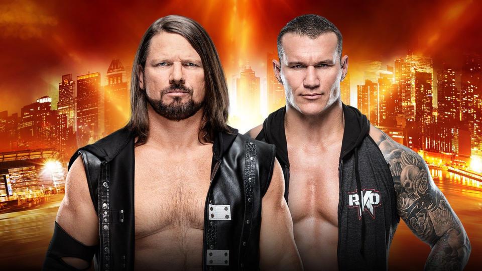 AJ Styles vs Orton