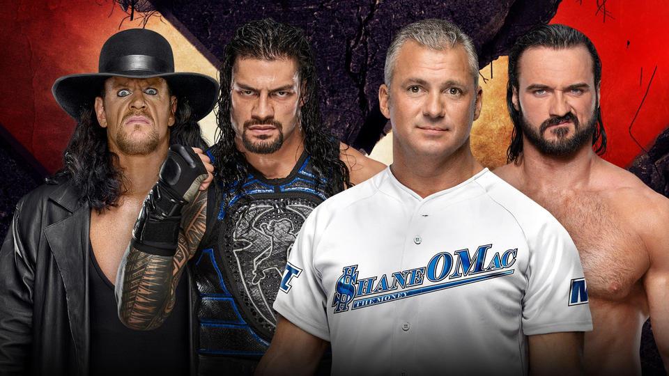 Reigns Undertaker vs Shane McIntyre Extreme Rules 2019