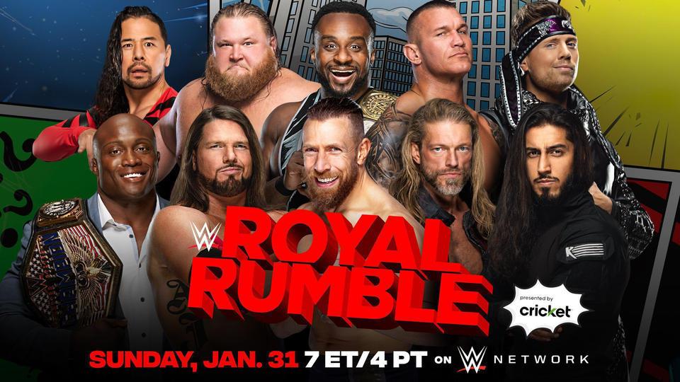 Men's Royal Rumble Match 2021