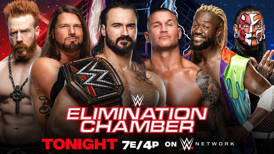 WWE Elimination Chamber Results – February 21, 2021